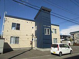 北海道札幌市北区篠路八条5丁目の賃貸アパートの外観
