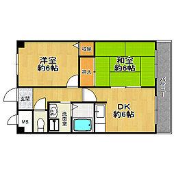 佃第一ローズマンション[7階]の間取り