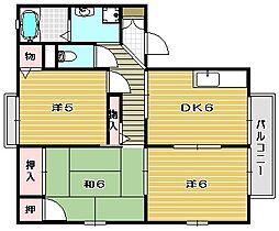 ADISHIO[2階]の間取り