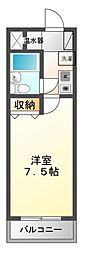 TWIN HOTARUNO I・II[3階]の間取り