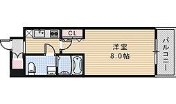 Co.labo天王寺[5階]の間取り