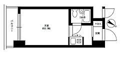 ライオンズマンションヨコハマ戸部[4階]の間取り