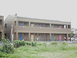 静岡県三島市中島の賃貸アパートの外観
