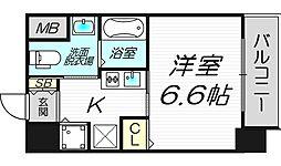サムティ天満Dio[11階]の間取り