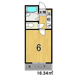 ラ・モンド[4階]の間取り