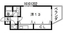 ヴィラ901[3階]の間取り