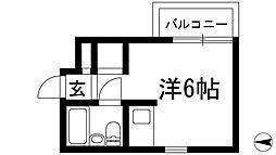 ダイドーメゾン門戸2[1階]の間取り