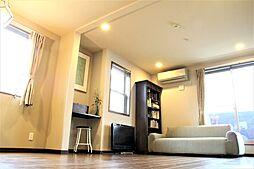 若宮の邸 東南角地のデザインハウス 3LDKの居間