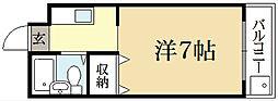 ハイツ62[2階]の間取り