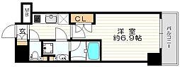 エグゼ北大阪[3階]の間取り