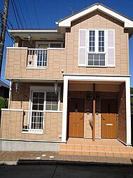 千葉県流山市加6丁目の賃貸アパートの外観