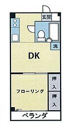 日野グリーンヒルハイム[1階]の間取り