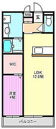 Bauplace MIZO[2階]の間取り