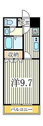 ウィン アロー[1階]の間取り