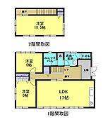 3LDKの住宅です。キッチンの位置を変更して、和室を洋室に変えました。