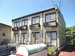 岡山県玉野市田井5丁目の賃貸アパートの外観