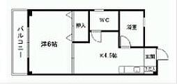 井ビルII[4階]の間取り