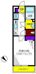 リブリ・グリーンクレスト[2階]の間取り