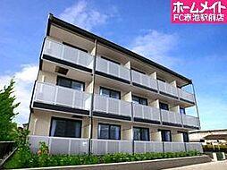 愛知県名古屋市天白区福池2丁目の賃貸アパートの外観