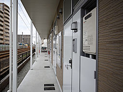 兵庫県明石市林崎町1丁目の賃貸アパートの外観