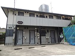 東京都台東区池之端3丁目の賃貸アパートの外観