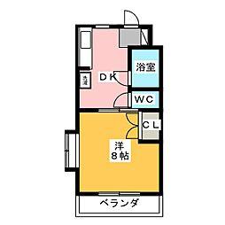 ヴィンテージ[1階]の間取り