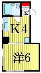 小島アパート[3階]の間取り