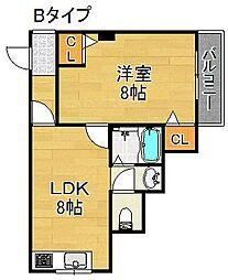KIRISHIMAハイツ[3階]の間取り