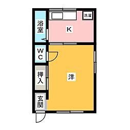 sonrisa藤町[2階]の間取り