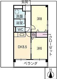 VIVACE SUZUKA[3階]の間取り