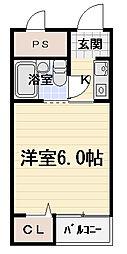エスポアール豊秀[5階]の間取り