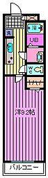 リブリ・アネックス川口[201号室]の間取り