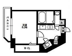 Saint Amie(セントアミー)新大阪北[4階]の間取り
