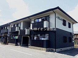 岡山県倉敷市福田町浦田丁目なしの賃貸アパートの外観