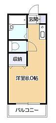 アキコーポ[2階]の間取り
