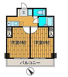 SOCIO町田[5階]の間取り