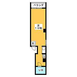 吉田ビル[5階]の間取り