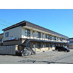 北海道室蘭市寿町2丁目の賃貸アパートの外観