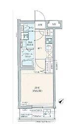 都営三田線 巣鴨駅 徒歩7分の賃貸マンション 4階1Kの間取り