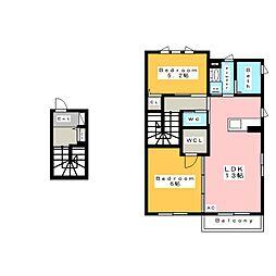 セレニティII (SERENITYII)[2階]の間取り