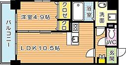 グランハイアット[3階]の間取り