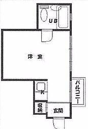 日本橋センチュリープラザ[3F号室]の間取り