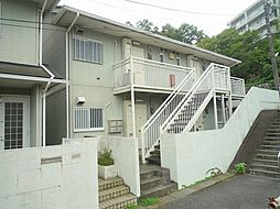 神奈川県川崎市麻生区百合丘1丁目の賃貸アパートの外観
