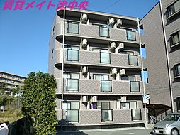 三重県津市鳥居町の賃貸マンションの外観