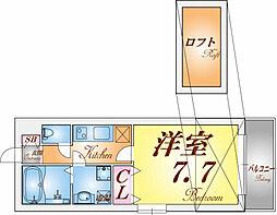 KTIレジデンス須磨浦通[3階]の間取り