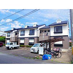 奈良県桜井市上之庄の賃貸アパートの外観