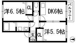 紅葉ガ丘フォーテック2[1階]の間取り