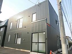 [タウンハウス] 北海道札幌市豊平区月寒西一条9丁目 の賃貸【/】の外観