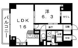 セントヒルズ[12階]の間取り