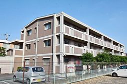 神奈川県厚木市上落合の賃貸マンションの外観